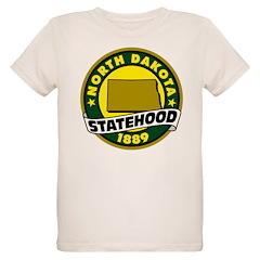 North Dakota Statehood Organic Kids T-Shirt