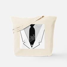suit Tote Bag