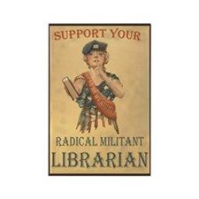 Support Your Radical Militant Librarian Rectangle