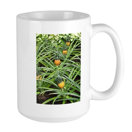 Tiny Pineapples All in a Row Large Mug