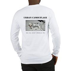 Urban Camouflage Long Sleeve T-Shirt