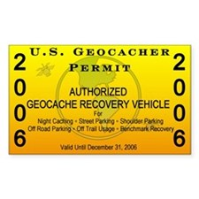 2006 Geocacher Permit