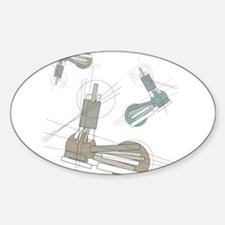 Bionic Geometronic Oval Decal