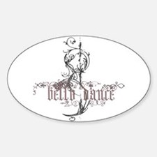Belly Dance Decal