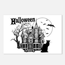 Haunted House - Postcards (Package of 8)