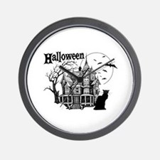 Haunted House - Wall Clock
