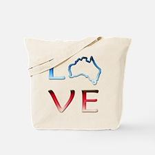 LOVE Australia Tote Bag