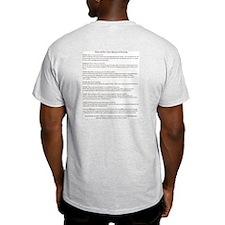 Don't Litter! Ash Grey T-Shirt
