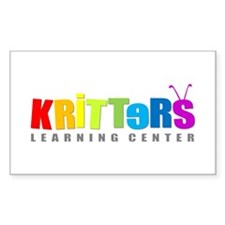 Kritters Rectangle Decal