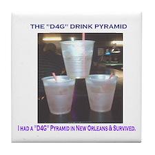 The New Orleans D4G Drink Tile Coaster