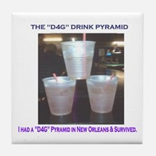 The New Orleans D4G Drink Tile Coaster