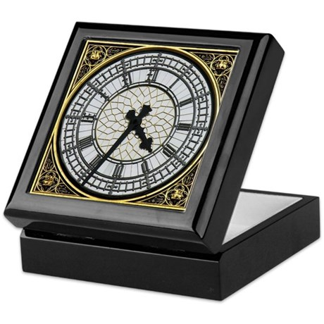 Big Ben clock face Keepsake Box