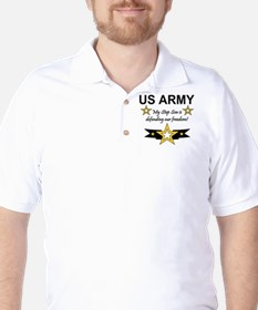 Army Step Son Defending T-Shirt