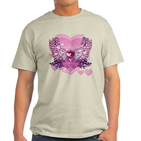 Twilight Valentine Heart Wings Light T-Shirt
