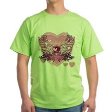 Twilight Valentine Heart Wings T-Shirt