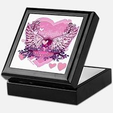 Twilight Valentine Heart Wings Keepsake Box