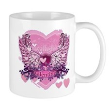 Twilight Valentine Heart Wings Mug