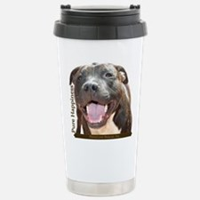 Pure Happiness Stainless Steel Travel Mug