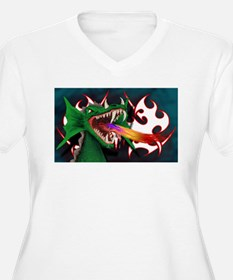 Cute Red dragon fire T-Shirt