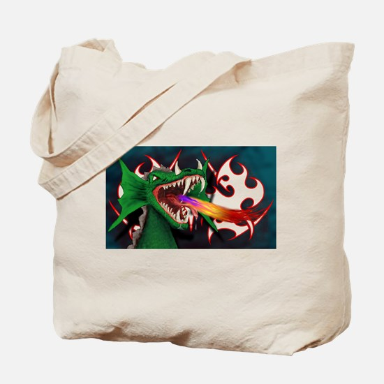 Unique Fire guy Tote Bag