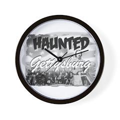 Haunted Gettysburg Wall Clock