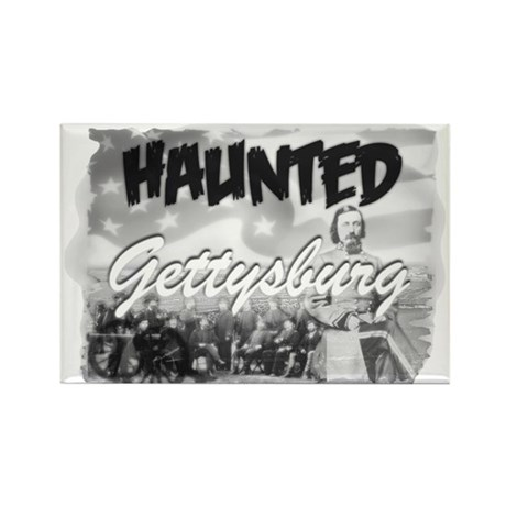 Haunted Gettysburg Rectangle Magnet