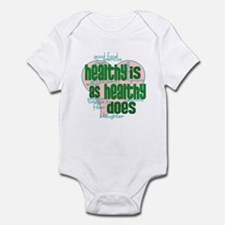 Healthy is Healthy does Infant Bodysuit