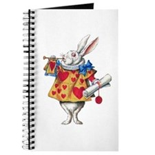 ALICE'S WHITE RABBIT Journal