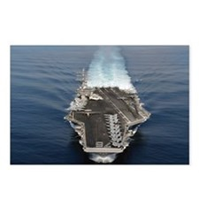 USS Ronald Reagan Ship's Image Postcards (Package