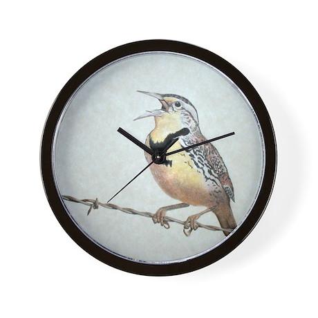 Meadowlark Wall Clock