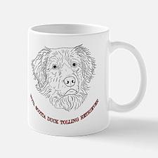 Toller Line Art Mug