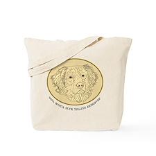 Toller Oval Tote Bag