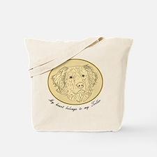 Toller Heart Tote Bag