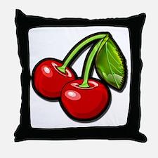 Cute Cherry Throw Pillow