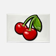 Cute Cherries Rectangle Magnet (10 pack)