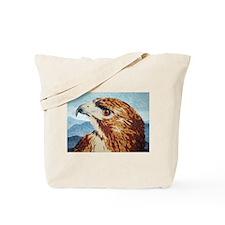 Mya, Red-tail Hawk Tote Bag