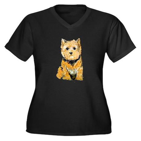 I love my Norwich Terrier Women's Plus Size V-Neck