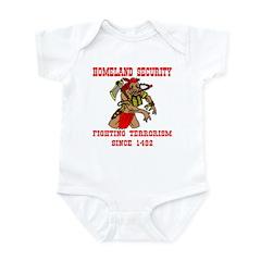 Fighting Terrorism Since 1492 Infant Bodysuit