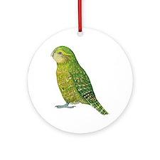 Kakapo Female Ornament (Round)