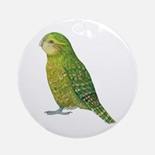 Kakapo Female Ornament (Round)