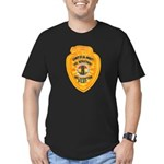 L.A. County Fire Copter Pilot Men's Fitted T-Shirt