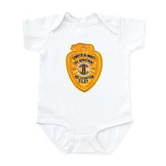 L.A. County Fire Copter Pilot Infant Bodysuit
