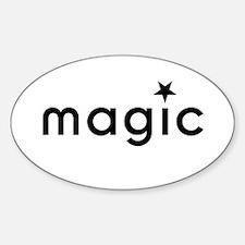 Magic Oval Decal