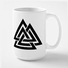 Valknut Large Mug