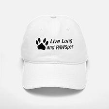 Live Long And Pawsper Baseball Baseball Cap