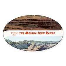 Mesaba Iron Range Oval Decal