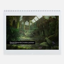 Cute Beautiful painting Wall Calendar