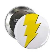 "Yellow Lightning 2.25"" Button"