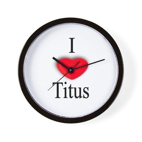 Titus Wall Clock