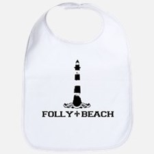Folly Beach SC - Lighthouse Design Bib